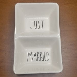 Just Married Rae Dunn Tray